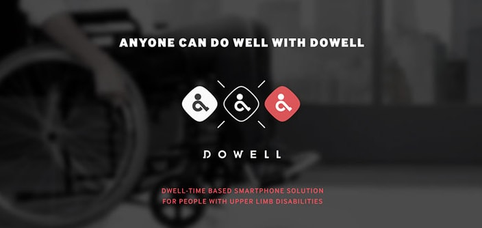[Design Story] The DOWELL 'Dwell Click' Helps People with Upper Limb Disabilities to Use Smart Devices