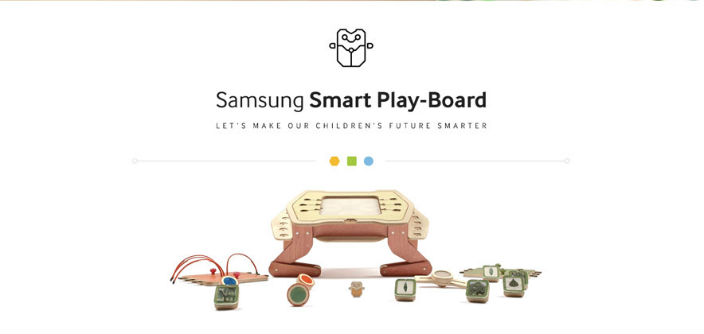 [Design Story] Being Smart Can Be Child's Play: The Samsung Smart Play-Board