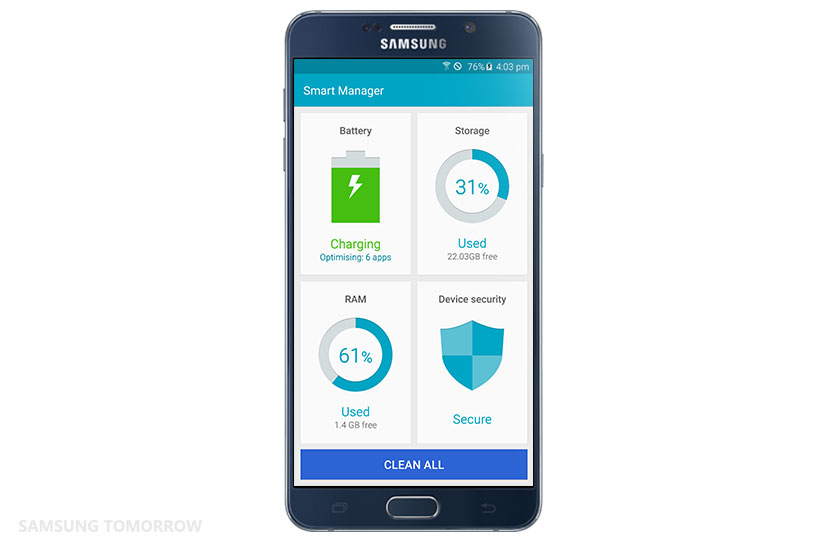 Smart Manager The Way To Keep Your Galaxy Smartphone As