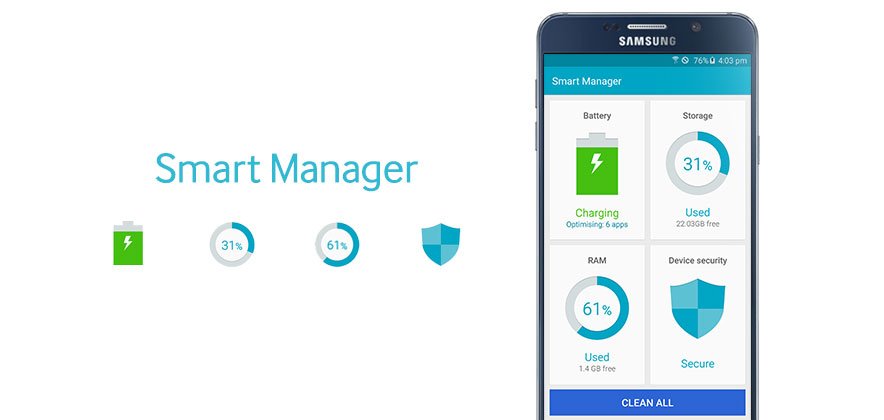 Smart Manager: The Way to Keep Your Galaxy Smartphone as
