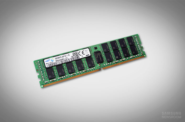 Samsung Starts Mass Producing Industry's First 128-Gigabyte DDR4 Modules for Enterprise Servers