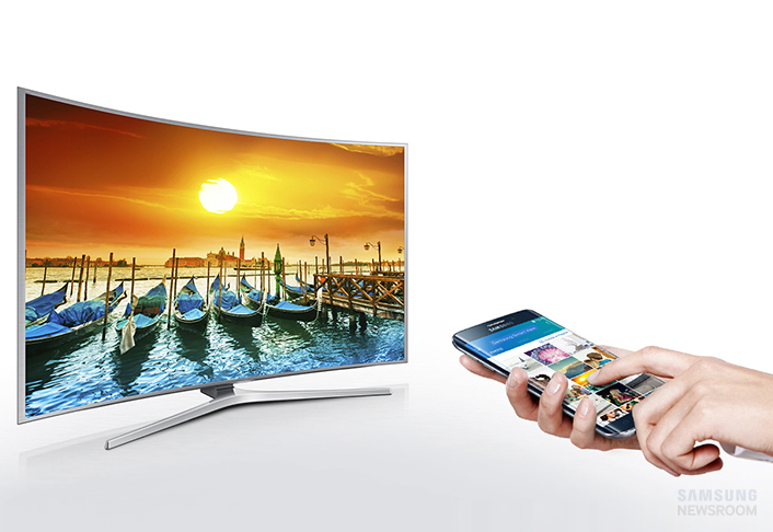 how to connect samsung smart view to tv