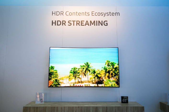 Samsung and Partners Demonstrate Live UHD HDR TV Broadcast via ATSC 3.0 at CES 2016