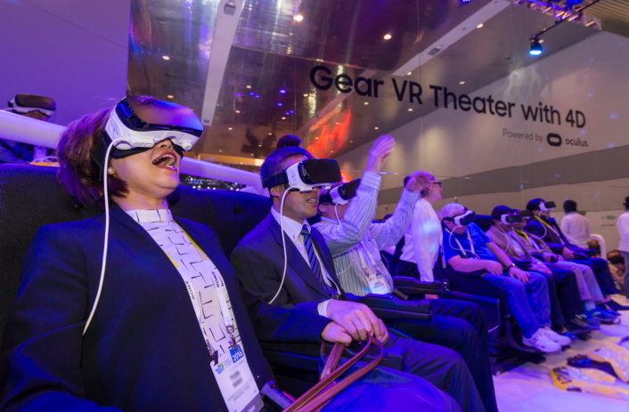 [CES2016] Samsung Galaxy Studio_Gear VR Theater with 4d_7