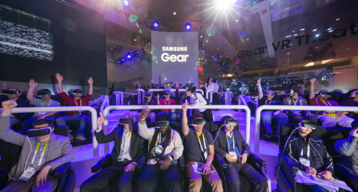 Samsung Galaxy Studio_Gear VR Theater with 4d