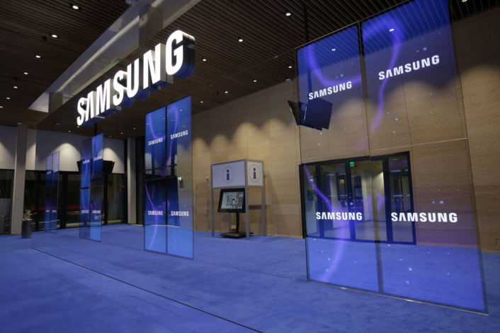 Samsung Commercial Displays >> Samsung Electronics To Showcase Next Level Display Innovations At