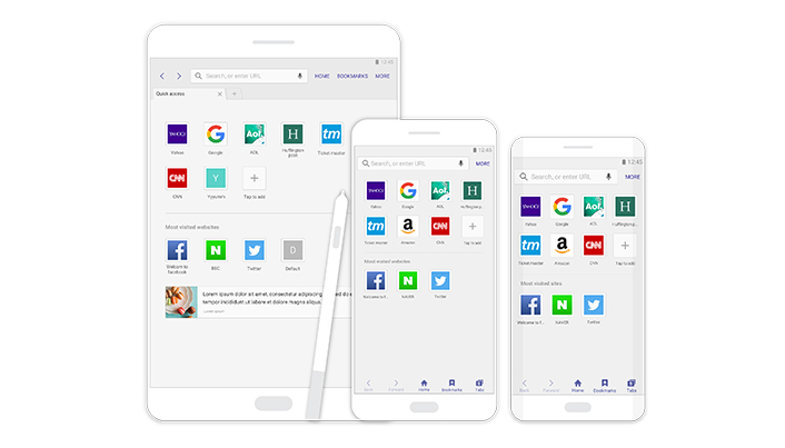 Samsung Internet 4 0 and Cross App Boost Functionality for Galaxy