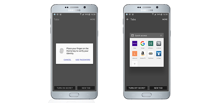 Samsung Internet 4 0 and Cross App Boost Functionality for