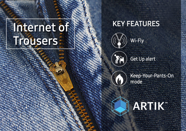 Samsung Unveils Internet of Trousers Fashion Range