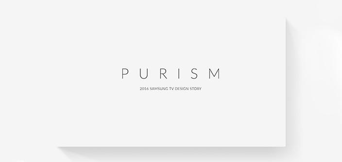 [Design Story] Purism: 2016 Samsung TV Design