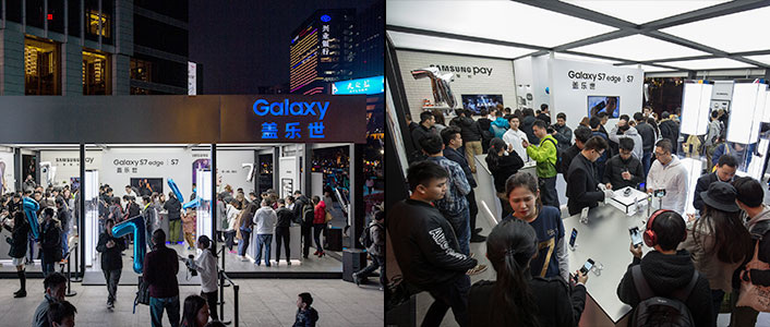 Throughout the weekend, energetic crowds filled the Galaxy Studio at Tianhe Square, Guangzhou, China.