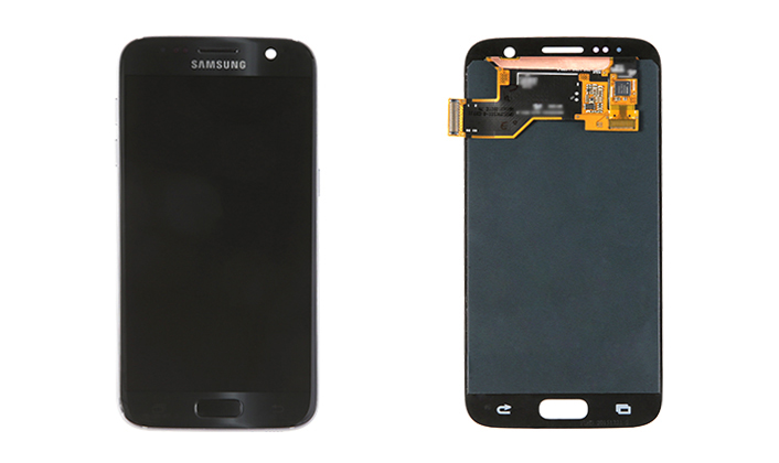 Galaxy S7 Display (front / back)