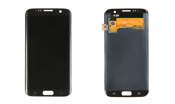 Galaxy S7 edge Display (front / back)