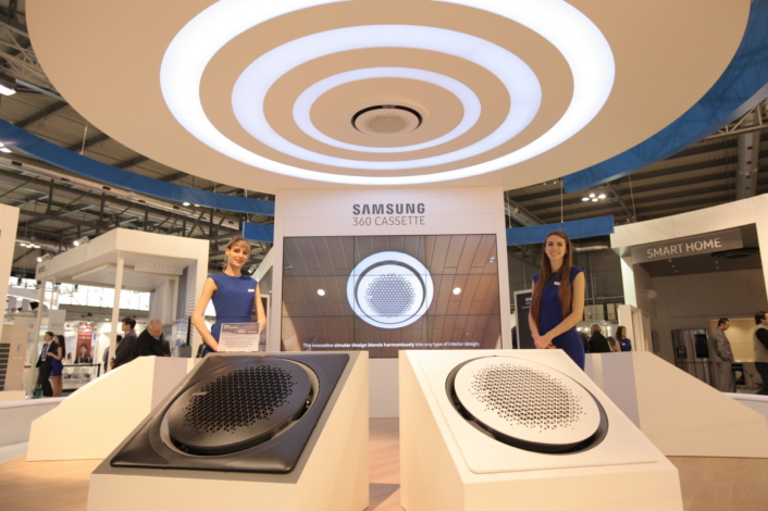 Samsung electronics presents innovative new air for New and innovative heating and cooling system design