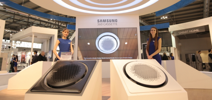 Samsung electronics presents innovative new air for Innovative heating and air conditioning