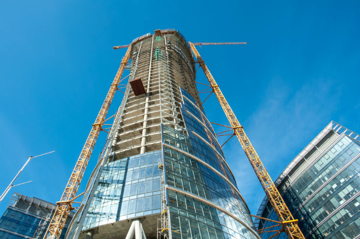 The Warsaw Spire will be completed in 2016.