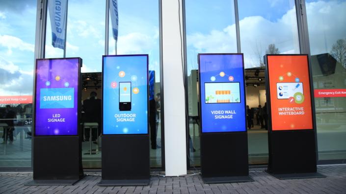 Samsung Electronics Ranks No  1 in Global Digital Signage