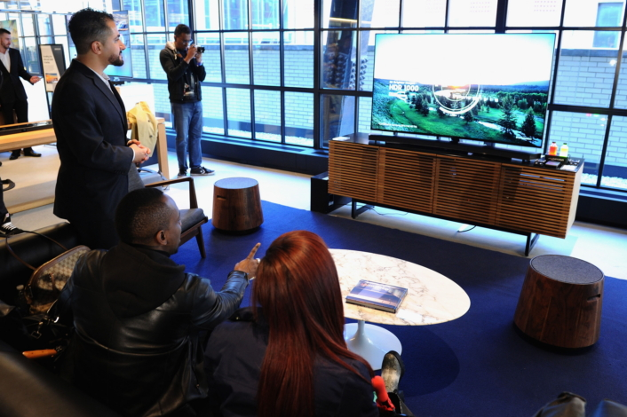 """Samsung 2016 Home Entertainment Spring Launch Event At Samsung 837 In New York"""