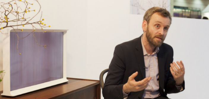 [Interview] Design Creates Bridge to Technology, Says Serif TV Designer Erwan Bouroullec