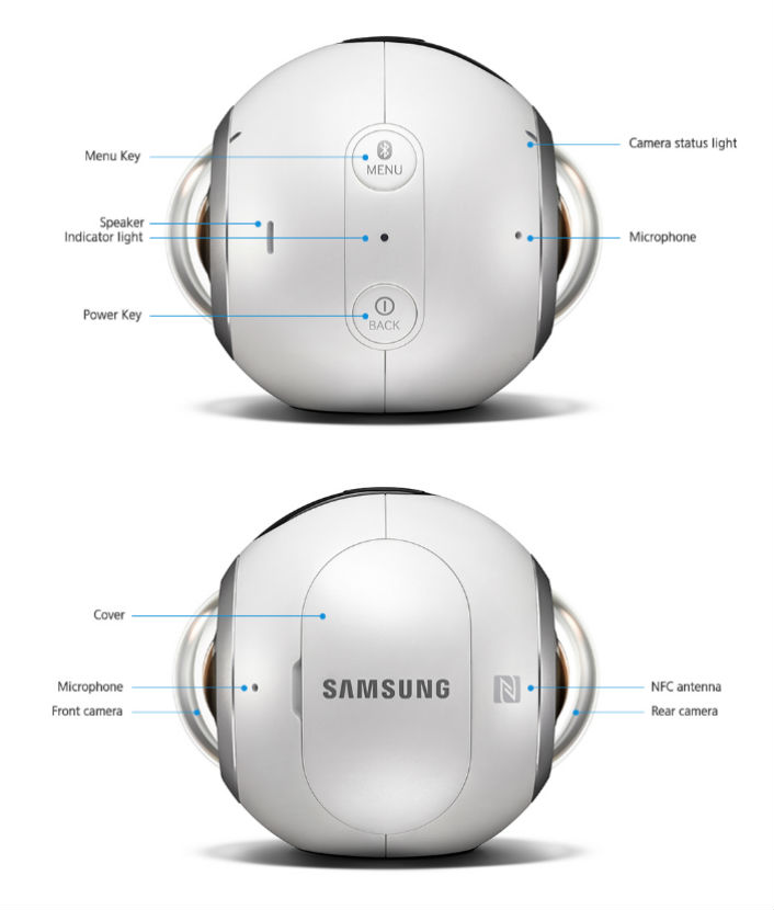 samsung gear 360 camera manual