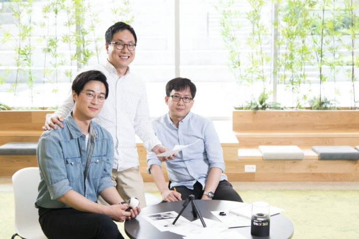 (From left to right) Assistant Designer Woojung Moon, Principal Designer Minki Ham and Senior Designer Kyunghan Noh