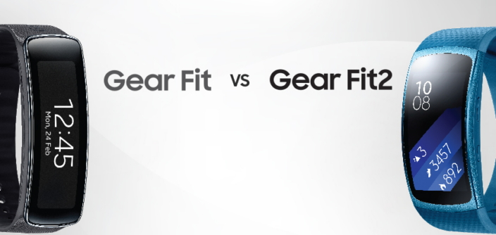 [Infographic] Spec Comparison: Gear Fit2 vs Gear Fit
