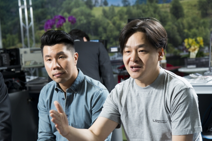 """HDR is an influential technology that may have a huge impact on our everyday lives by delivering a greatly advanced visual experience,"" emphasized Kim Tae-Jung (right), Business Development Manager, ARRI Asia."