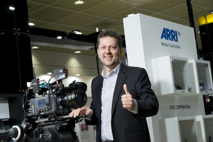 """We expect to see much demand in the Korean market, which has won global recognition for its high-quality TV dramas and movies,"" said Paul Ivan, Managing Director of ARRI Asia."