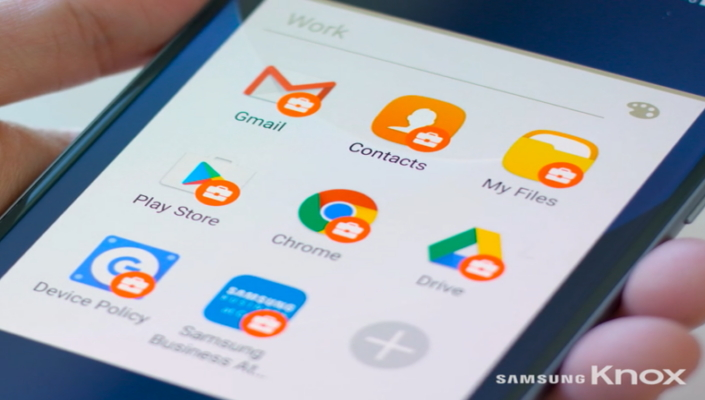 Android for Work Hardened by Knox on Samsung Device