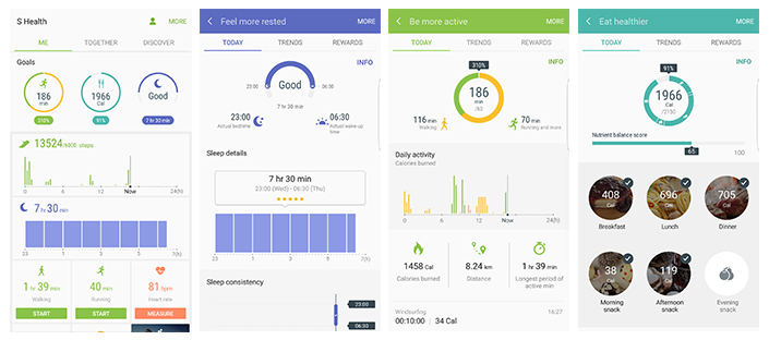 New S Health Lets Users Team Up to Tone Up – Samsung Global Newsroom
