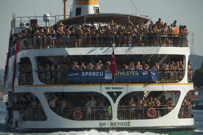 Each year the Samsung Bosphorus Cross-Continental Swimming Race draws scores of swimmers from across the world for a truly memorable and unifying competition.