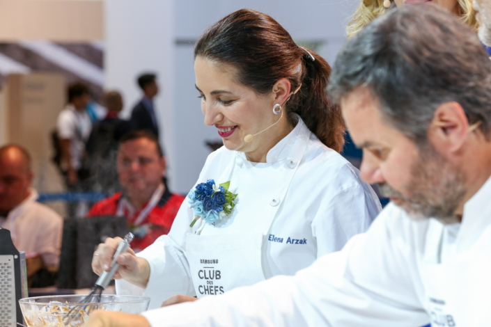 Three-star Michelin chef Elena Arzak.