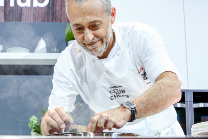 The newest member of the Club des Chefs, Michel Roux.