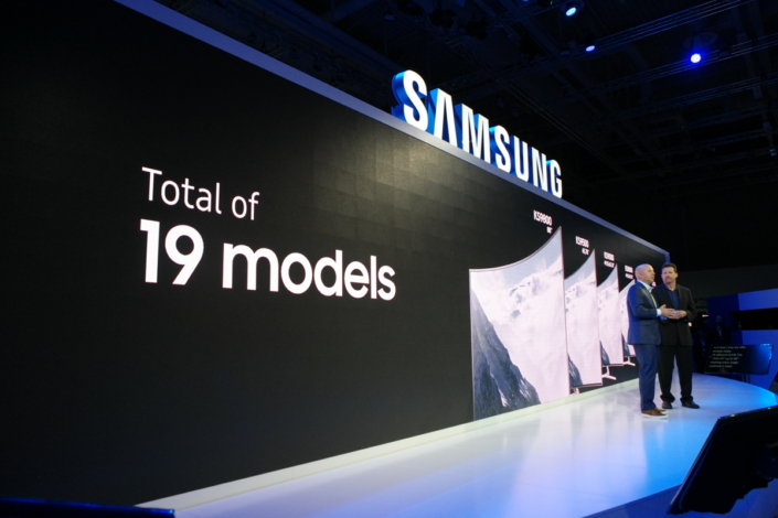 Samsung's new lineup of Quantum Dot SUHD TVs includes 19 models—the broadest SUHD lineup Europe's ever seen.