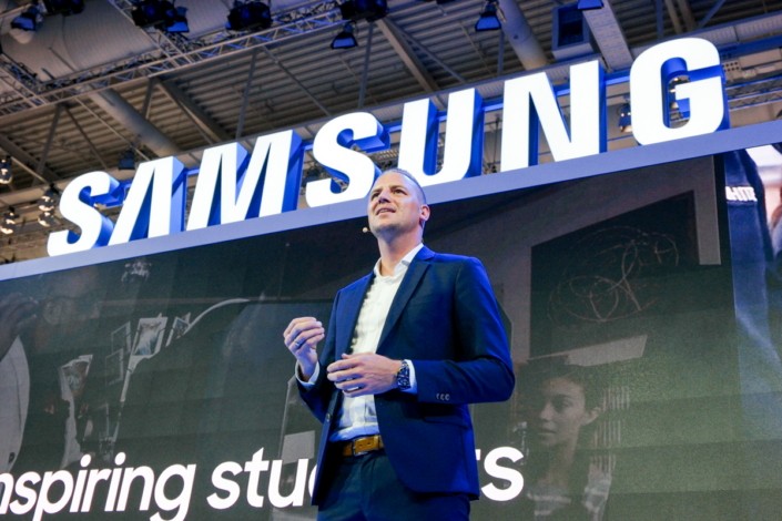 Andreas Langfeld, General Manager of MakerBot, the global leader in 3D printing, elaborates on the company's partnership with Samsung, which will equip and train teachers and students in European markets to use the technology.