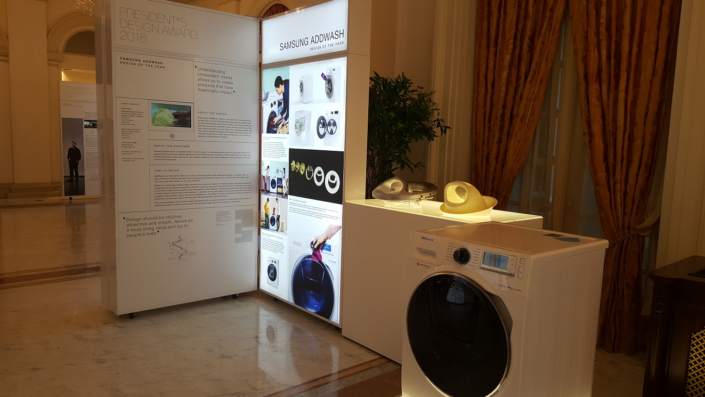 AddWash feature recognized as one of the design of the year at President's Design Award.