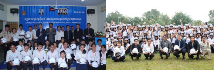 Samsung Cambodia traffic safety