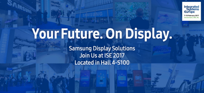 Invitation samsung ise 2017 experience how samsungs innovative at this years integrated systems europe exhibition the worlds largest av systems integration show samsung electronics will showcase a host of new stopboris Gallery