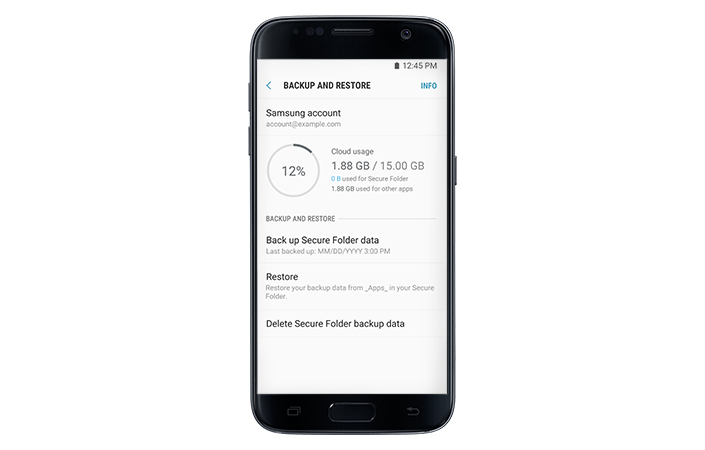 For Your Eyes Only : Secure Folder Now Available for Galaxy S7