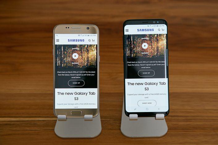 Layar Samsung Galaxy S8 Terbukti Mudah Retak