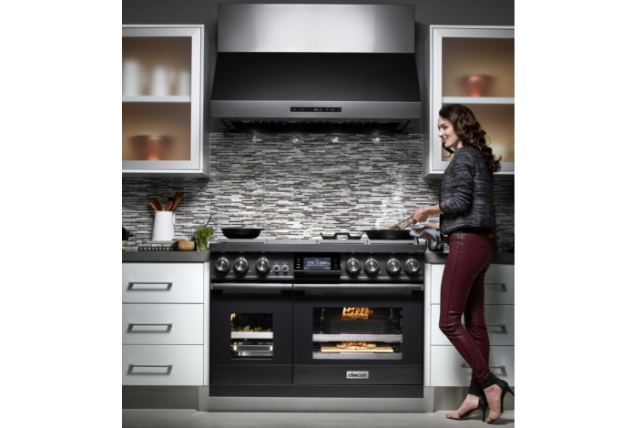 Available In Two Sizes, Pro Dual Fuel Steam Range Features Highly  Sophisticated Design And Performance. Professional Level Precision Comes  Through With The ...