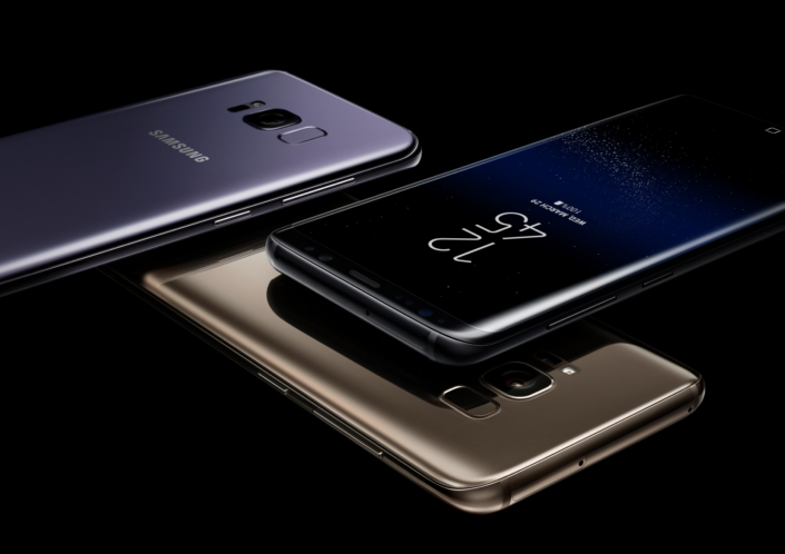 Samsung Galaxy S8 e S8+: display infinito