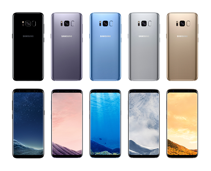 Blending Seamlessly Into Life: The Galaxy S8 Design and UX