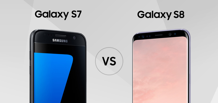 [Infographic] Spec Comparison: Galaxy S8 vs. Galaxy S7