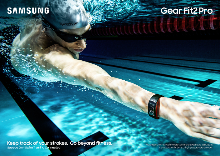 Speedo and Samsung Make Waves with Partnership to Bring
