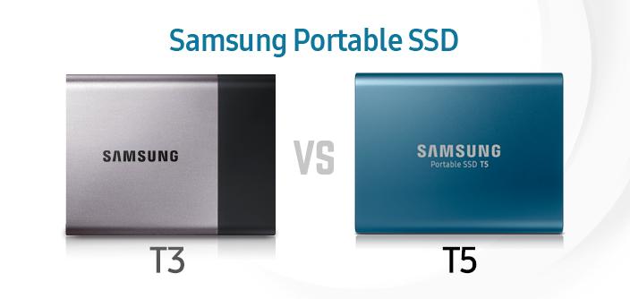 [Infographic] Portable Solid-State Drive Spec Comparison: T3 vs. T5