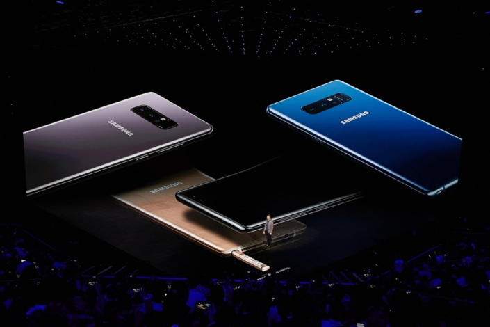 """Today isn't just about unveiling an amazing new product. It's about celebrating what's behind that product: all of you,"" Justin Denison, Senior Vice President of Product Strategy at Samsung Electronics America, said to the audience as he discussed how Note users were the inspiration for the Galaxy Note8."