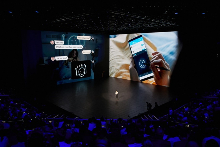 Photo Samsung Galaxy Unpacked 2017 Introduces The Galaxy Note8 The Next Level Note Samsung Global Newsroom