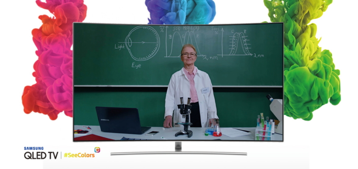 Samsung Launches SeeColors App for QLED TV to Support People with