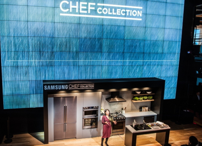 Samsung S Smart Built In Chef Collection Makes Kitchens More Connected